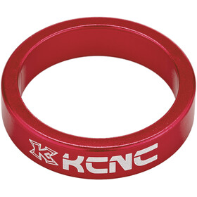 "KCNC Headset Spacer 1 1/8"" 8mm, red"